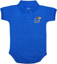 Kansas Jayhawks Polo Bodysuit