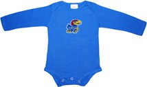 Kansas Jayhawks Long Sleeve Bodysuit