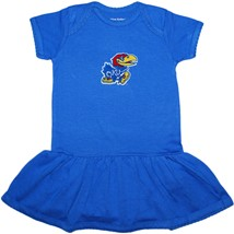 Kansas Jayhawks Picot Bodysuit Dress