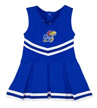 Kansas Jayhawks Cheerleader Bodysuit Dress