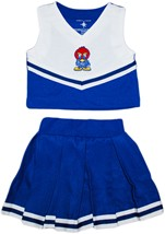 Official Kansas Jayhawks Baby Jay 2-Piece Cheerleader Dress