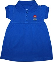 Kansas Jayhawks Baby Jay Polo Dress w/Bloomer