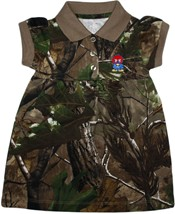 Kansas Jayhawks Baby Jay Realtree Camo Polo Dress