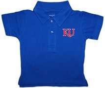 Kansas Jayhawks KU Infant Toddler Polo Shirt