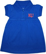 Kansas Jayhawks KU Polo Dress