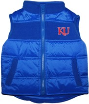 Kansas Jayhawks KU Puffy Vest