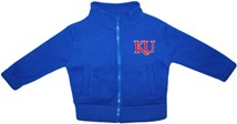Kansas Jayhawks KU Polar Fleece Zipper Jacket