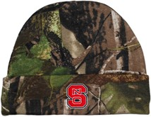 NC State Wolfpack Newborn Realtree Camo Knit Cap