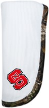 NC State Wolfpack Realtree Camo Baby Blanket