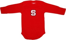 NC State Wolfpack Long Sleeve Bodysuit
