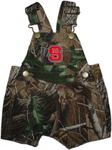 NC State Wolfpack Realtree Camo Short Leg Overall