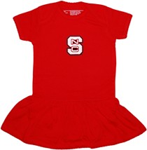 NC State Wolfpack Picot Bodysuit Dress