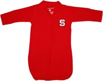 NC State Wolfpack Newborn Gown