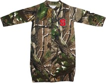 "NC State Wolfpack Realtree Camo ""Convertible"" Gown (Snaps into Romper)"