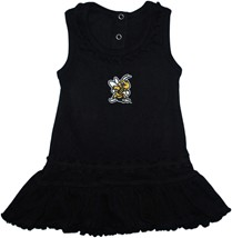 West Virginia State Yellow Jackets Ruffled Tank Top Dress