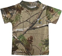 West Virginia State Yellow Jackets Realtree Camo Short Sleeve T-Shirt