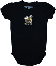 West Virginia State Yellow Jackets Puff Sleeve Bodysuit