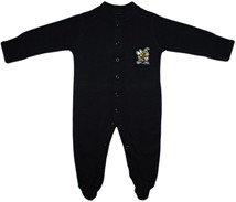 West Virginia State Yellow Jackets Footed Romper