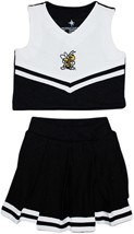 Official West Virginia State Yellow Jackets 2-Piece Cheerleader Dress