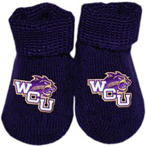 Western Carolina Catamounts Newborn Baby Bootie