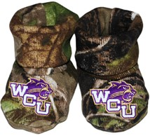 Western Carolina Catamounts Realtree Camo Baby Bootie