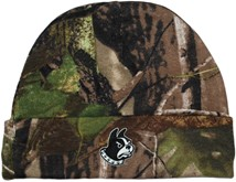 Wofford Terriers Newborn Realtree Camo Knit Cap