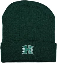 Hawaii Warriors Newborn Baby Knit Cap