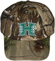 Hawaii Warriors Realtree Camo Baseball Cap