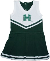 Hawaii Warriors Cheerleader Bodysuit Dress