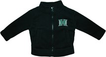 Hawaii Warriors Polar Fleece Zipper Jacket