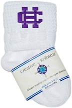 Holy Cross Crusaders Non-Kickoff Baby Newborn Bootie