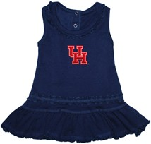 Houston Cougars Ruffled Tank Top Dress
