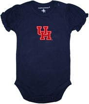 Houston Cougars Puff Sleeve Bodysuit