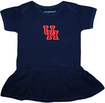 Houston Cougars Picot Bodysuit Dress