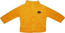 Iowa Hawkeyes Polar Fleece Zipper Jacket