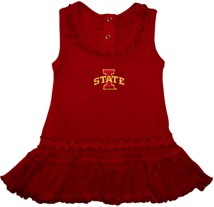 Iowa State Cyclones Ruffled Tank Top Dress