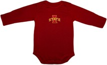 Iowa State Cyclones Long Sleeve Bodysuit