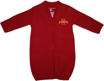 Iowa State Cyclones Newborn Gown