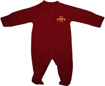 Iowa State Cyclones Footed Romper