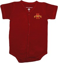 Iowa State Cyclones Front Snap Newborn Bodysuit
