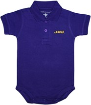 James Madison Dukes Polo Bodysuit