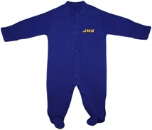 James Madison Dukes Footed Romper