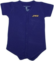 James Madison Dukes Front Snap Newborn Bodysuit