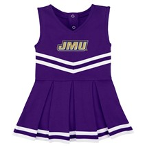 James Madison Dukes Cheerleader Bodysuit Dress