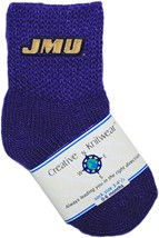 James Madison Dukes Baby Bootie