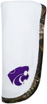 Kansas State Wildcats Realtree Camo Baby Blanket