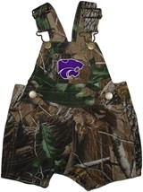 Kansas State Wildcats Realtree Camo Short Leg Overall
