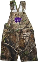 Kansas State Wildcats Realtree Camo Long Leg Overall