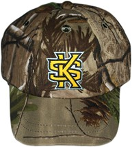 Kennesaw State Interlocking KS Realtree Camo Baseball Cap