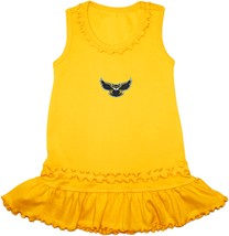 Kennesaw State Owls Ruffled Tank Top Dress